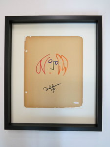 An Original John Lennon Drawing in for Framing